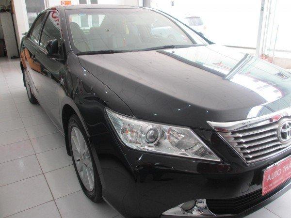Bán Toyota Camry 2.5G sản xuất 2012, màu đen, chính chủ-1