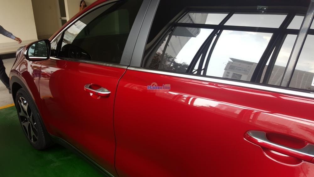 Bán xe Kia Sportage đời 2015, màu đỏ, xe nhập-6
