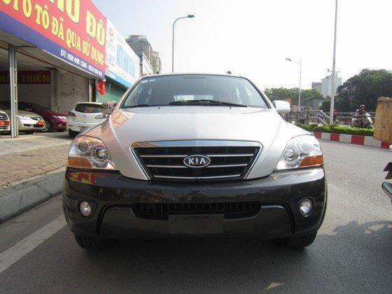 Bán xe Kia Sorento đời 2008, màu bạc, nhập khẩu Hàn Quốc, số tự động, giá 535tr-0