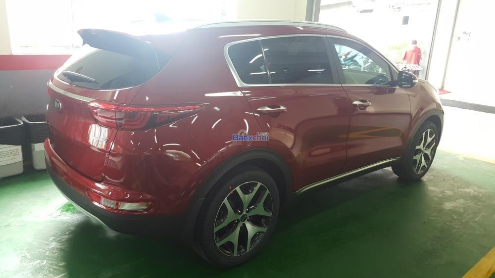 Bán xe Kia Sportage đời 2015, màu đỏ, xe nhập-16