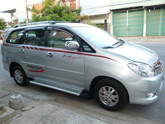 Bán Toyota Innova đời 2008, màu bạc, nhập khẩu, giá chỉ 358 triệu-0