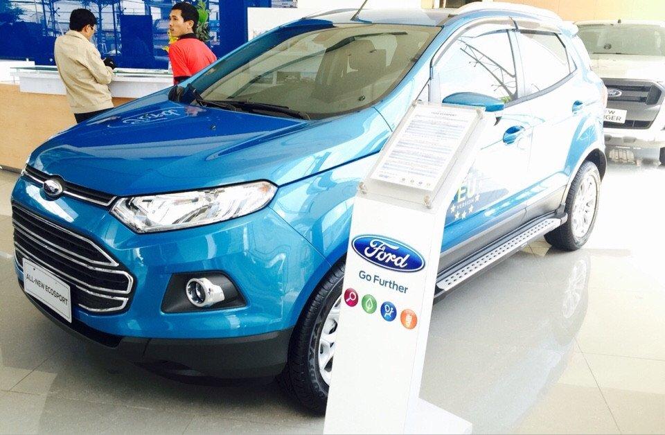 Bán Ford EcoSport đời 2015, xe đẹp-0
