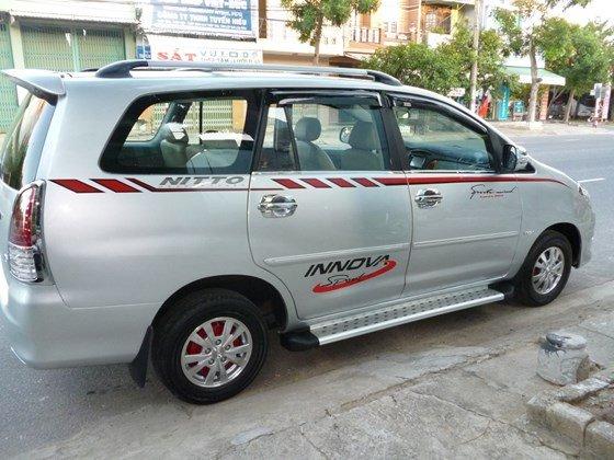 Bán Toyota Innova đời 2008, màu bạc, nhập khẩu, giá chỉ 358 triệu-1