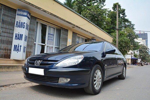 Cần bán Peugeot 607 đời 2002, nhập khẩu nguyên chiếc, giá 370tr-1
