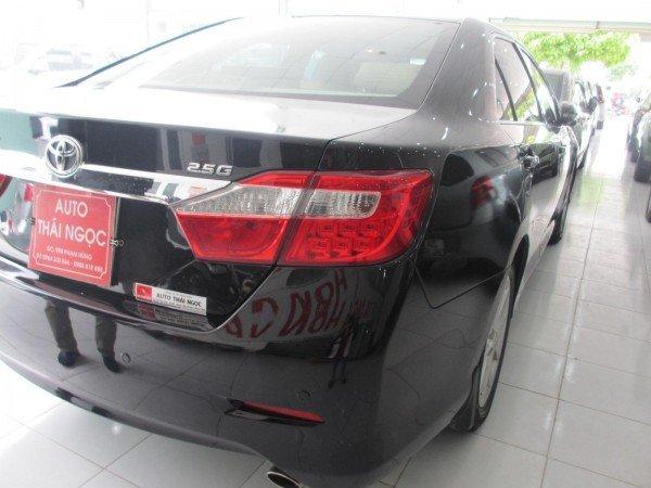 Bán Toyota Camry 2.5G sản xuất 2012, màu đen, chính chủ-3