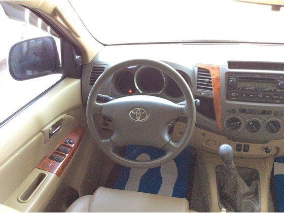 Cần bán lại xe Toyota Fortuner đời 2010, màu bạc, nhập khẩu chính hãng, số sàn-0