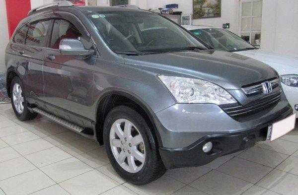 Cần bán xe Honda CR V đời 2009, màu xám-1