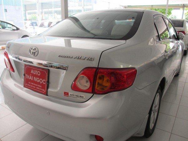 Auto Thái Ngọc cần bán xe Toyota Corolla đời 2008, màu bạc, chính chủ, 595 triệu-2