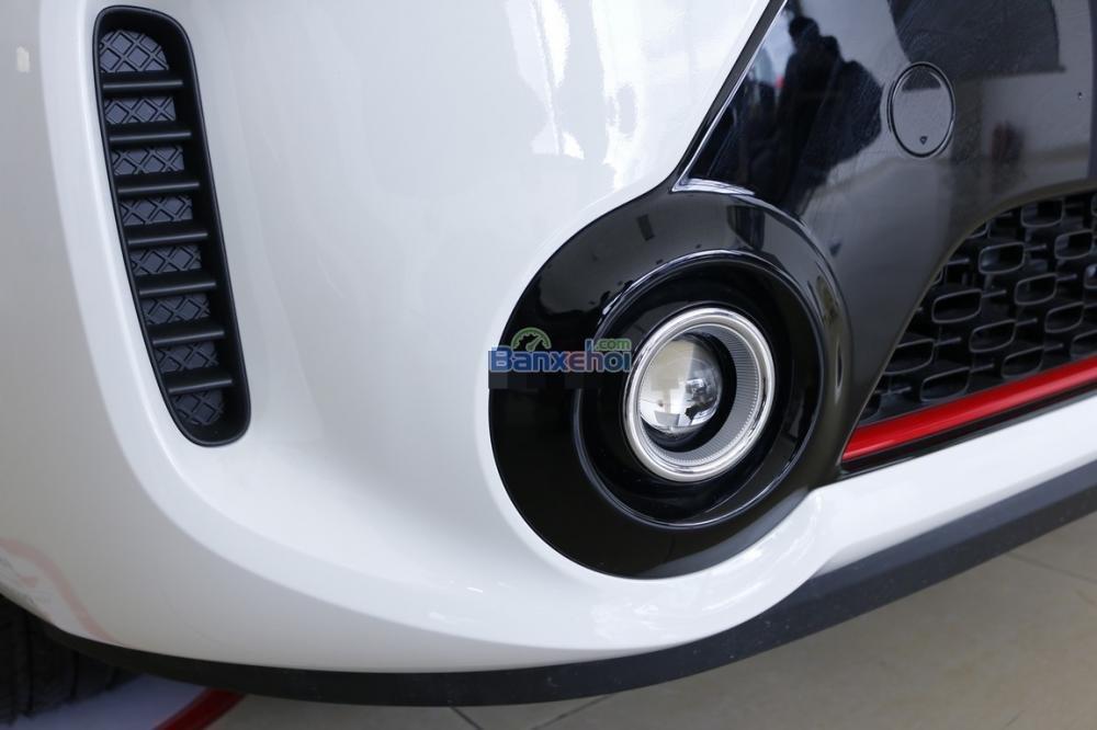 Bán xe Kia Morning sản xuất 2015, màu trắng, giá 425tr-4