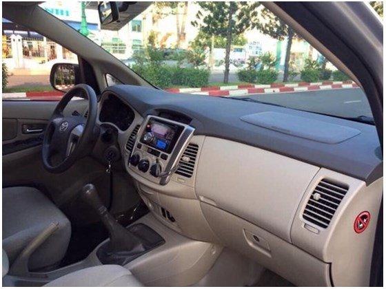 Cần bán lại xe Toyota Innova năm 2014, màu bạc, nhập khẩu chính hãng, 718 triệu-1