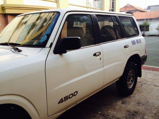 Bán ô tô Nissan Patrol đời 2002, màu trắng, nhập khẩu nguyên chiếc-3