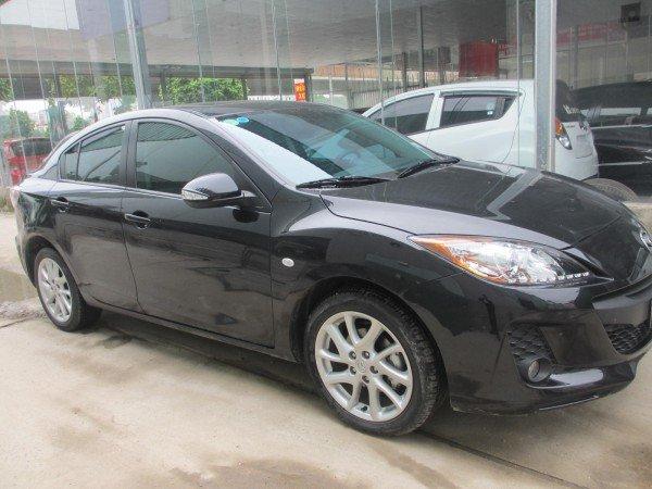 Mazda 3 Mazda 3S 1.6 AT, màu đen, đời 2014 - 680 triệu-0
