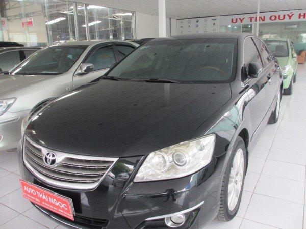Toyota Camry Toyota Camry 3.5Q, đời 2007, mầu đen - 755 triệu-0