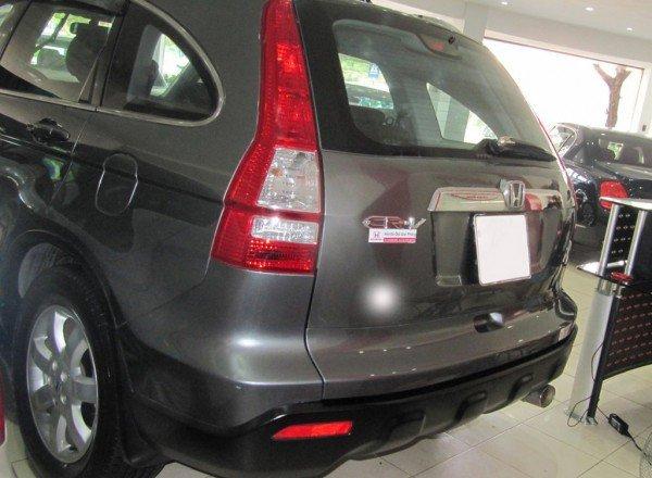 Cần bán xe Honda CR V đời 2009, màu xám-2