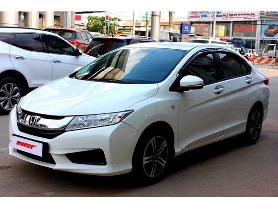 Cần bán lại xe Honda City đời 2015, màu trắng, xe nhập, số sàn, 555 triệu-2