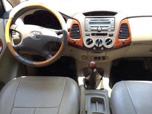 Bán ô tô Toyota Innova sản xuất 2007, màu bạc, giá tốt-3