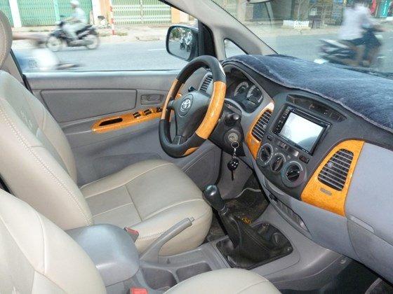 Bán Toyota Innova đời 2008, màu bạc, nhập khẩu, giá chỉ 358 triệu-4