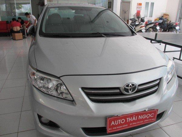 Auto Thái Ngọc cần bán xe Toyota Corolla đời 2008, màu bạc, chính chủ, 595 triệu-0