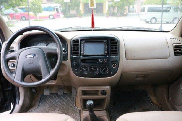 Xe Ford Escape đời 2003, màu đen, số sàn, giá chỉ 290 triệu-2