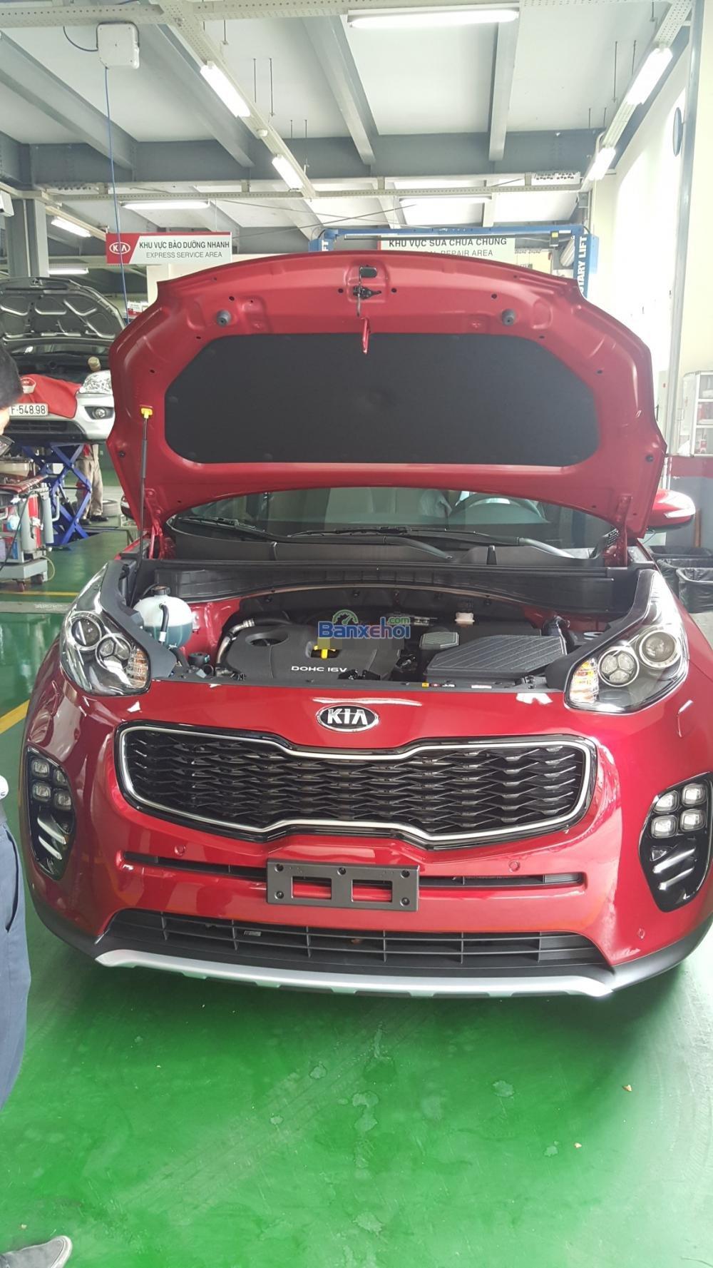 Bán xe Kia Sportage đời 2015, màu đỏ, xe nhập-12