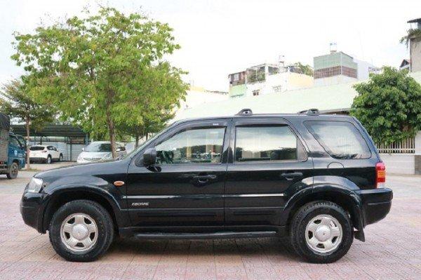 Xe Ford Escape đời 2003, màu đen, số sàn, giá chỉ 290 triệu-0