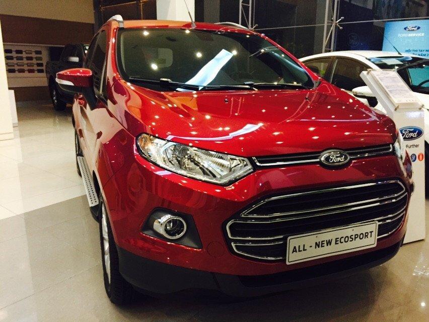 Bán Ford EcoSport đời 2015, nhập khẩu chính hãng, giá chỉ 645 triệu-0