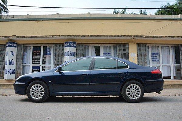 Cần bán Peugeot 607 đời 2002, nhập khẩu nguyên chiếc, giá 370tr-2