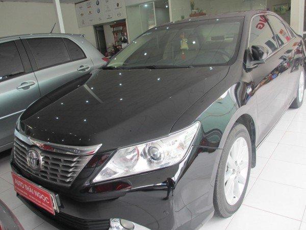 Bán Toyota Camry 2.5G sản xuất 2012, màu đen, chính chủ-0