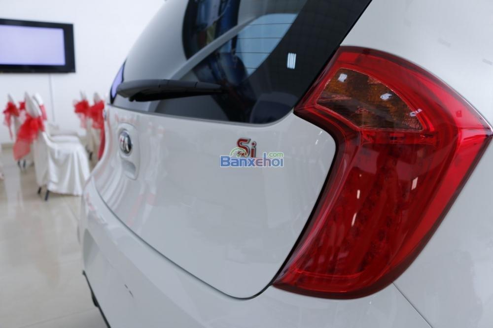 Bán xe Kia Morning sản xuất 2015, màu trắng, giá 425tr-5