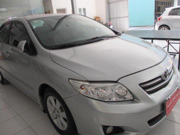 Auto Thái Ngọc cần bán xe Toyota Corolla đời 2008, màu bạc, chính chủ, 595 triệu-1
