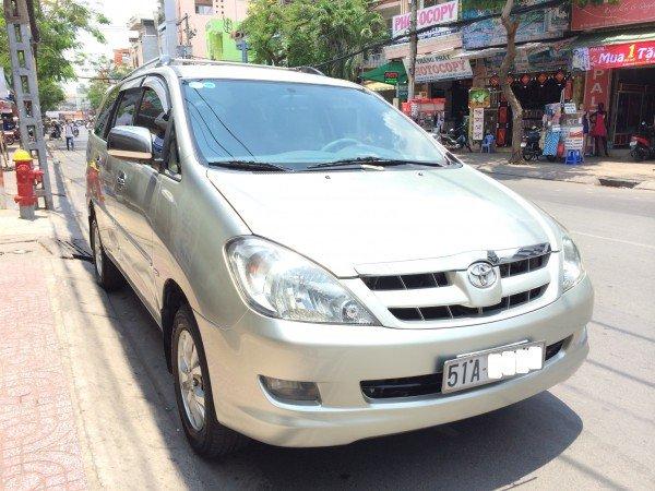 Bán ô tô Toyota Innova sản xuất 2007, màu bạc, giá tốt-0