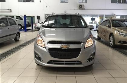 Cần bán gấp Chevrolet Spark đời 2015, màu xám-0