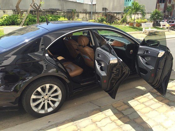 Bán ô tô Mercedes CLS350 2008, màu đen, nhập khẩu, xe gia đình-0