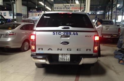 Bán Ford Ranger đời 2013, màu bạc, nhập khẩu  -1