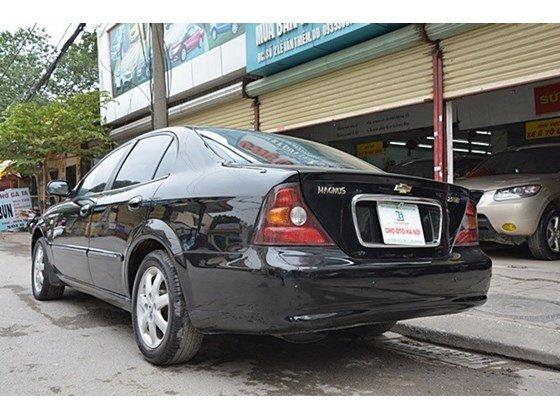 Bán xe Daewoo Magnus đời 2004, màu đen, nhập khẩu chính hãng, số tự động  -6