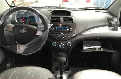 Cần bán gấp Chevrolet Spark đời 2015, màu xám-7