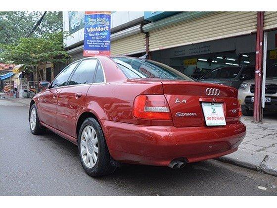 Bán Audi A4 sản xuất 2000, màu đỏ, nhập khẩu chính hãng số sàn, 345tr-10
