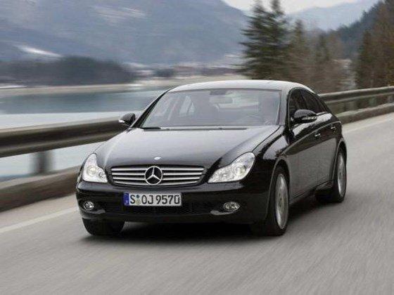 Bán ô tô Mercedes CLS350 2008, màu đen, nhập khẩu, xe gia đình-1