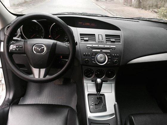 Cần bán lại xe Mazda 3 AT đời 2010, màu trắng, nhập khẩu chính hãng, số tự động-5