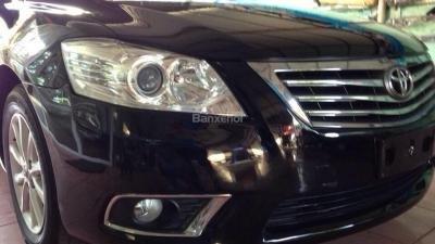 Bán Toyota Camry sản xuất 2010, màu đen, xe nhập, xe gia đình, giá tốt-1