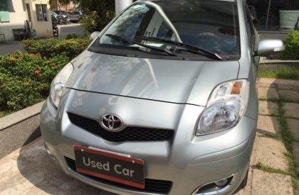 Bán ô tô Toyota Yaris đời 2012, màu bạc, nhập khẩu, số tự động-0