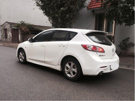 Cần bán lại xe Mazda 3 AT đời 2010, màu trắng, nhập khẩu chính hãng, số tự động-3