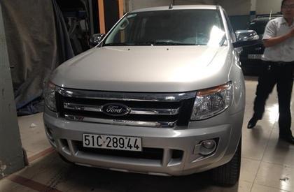 Bán Ford Ranger đời 2013, màu bạc, nhập khẩu  -0