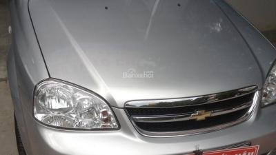 Bán Chevrolet Lacetti sản xuất 2013, màu bạc - 396 triệu-0