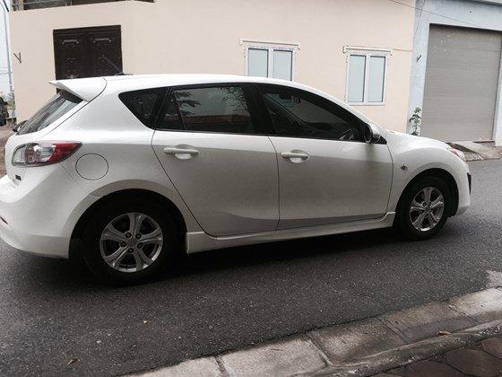 Cần bán lại xe Mazda 3 AT đời 2010, màu trắng, nhập khẩu chính hãng, số tự động-4