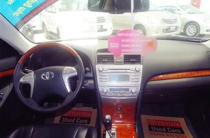 Bán xe Toyota Camry 3.5Q đời 2007, màu bạc, giá chỉ 760 triệu  -2