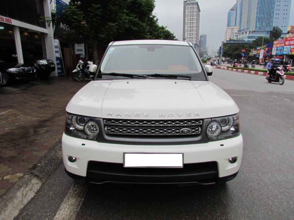 Cần bán xe LandRover Range rover đời 2011, màu trắng, nhập khẩu nguyên chiếc-1