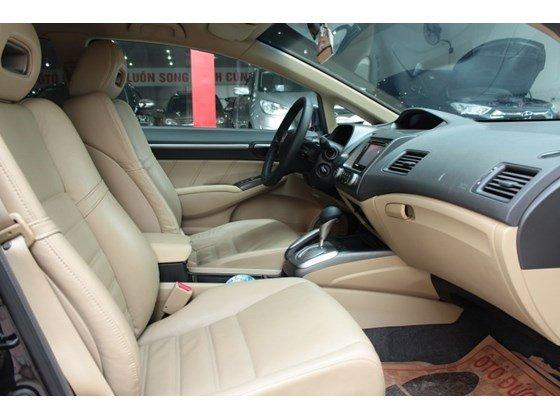 Bán xe Honda Civic năm 2008, màu đen, nhập khẩu nguyên chiếc, số tự động, 500 triệu-8