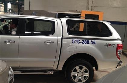 Bán Ford Ranger đời 2013, màu bạc, nhập khẩu  -2