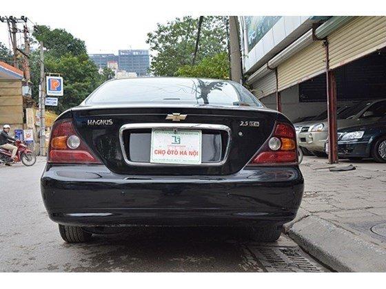 Bán xe Daewoo Magnus đời 2004, màu đen, nhập khẩu chính hãng, số tự động  -13